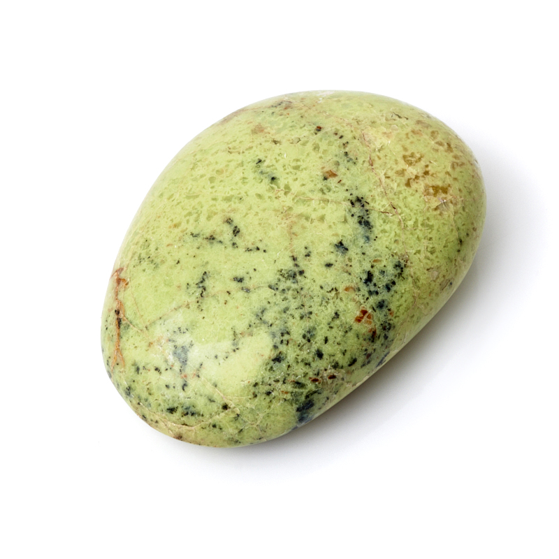 Галтовка опал фисташковый Мадагаскар S (4-7 см) (1 шт)