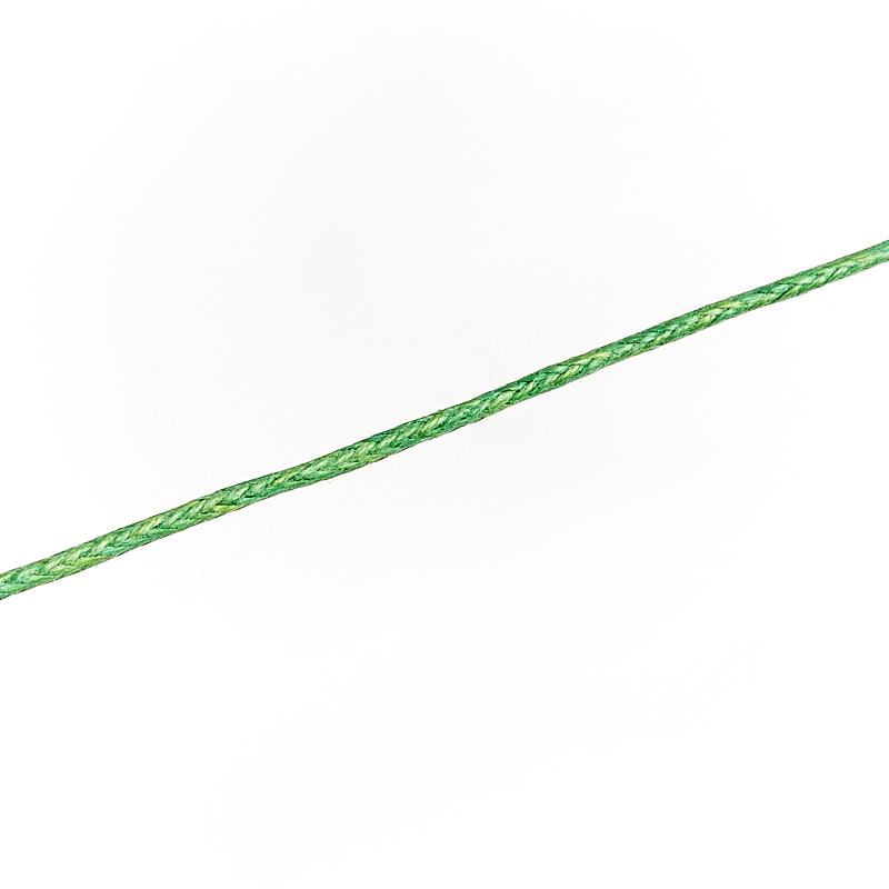 Шнурок (зеленый) 70 см (текстиль)