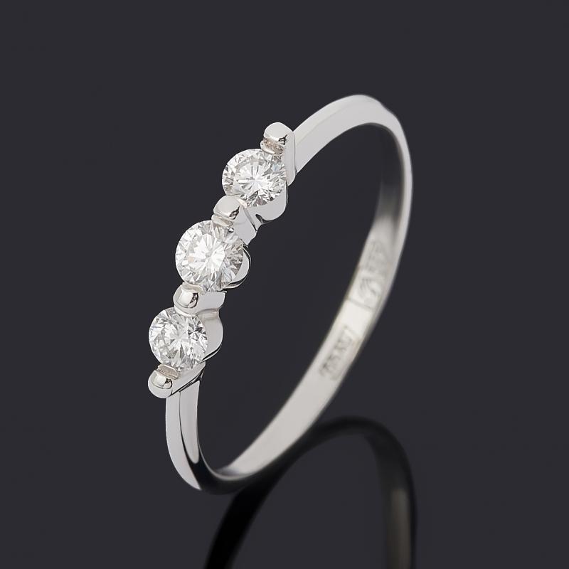 Кольцо бриллиант Индия (золото 585 пр.) огранка размер 17,5