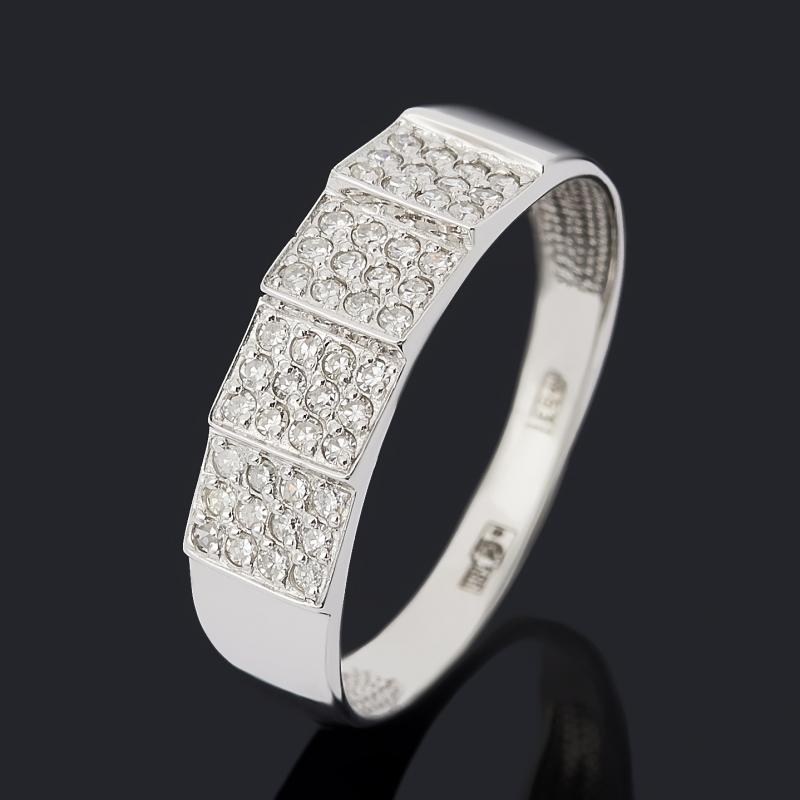 Кольцо бриллиант Индия (золото 585 пр.) огранка размер 18,5