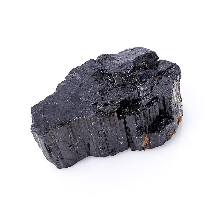 Кристалл турмалин черный (шерл) S кристалл в породе турмалин l
