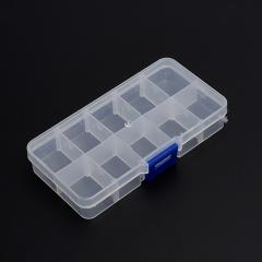 Коробка для коллекции камней пластик (10 ячеек)
