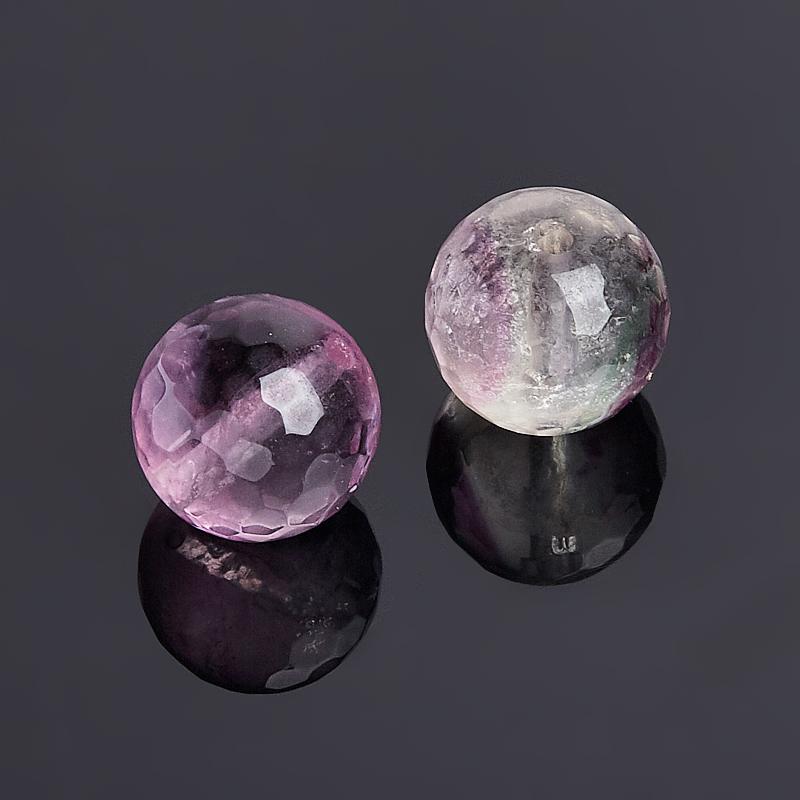Бусина флюорит фиолетовый шарик 9,5-10 мм огранка (1 шт) натуральный malaysia нити нефритовый шарик круглый окрашенные бусины светно коралловые 10 мм отверстие 1 мм около 39 шт нитка 15 4