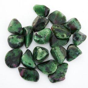 Рубин-Цоизит Танзания (1-1,5 см) 1 шт