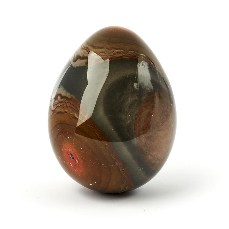 Яйцо яшма пестроцветная 7 см яйцо шкатулка sima land купола высота 7 5 см