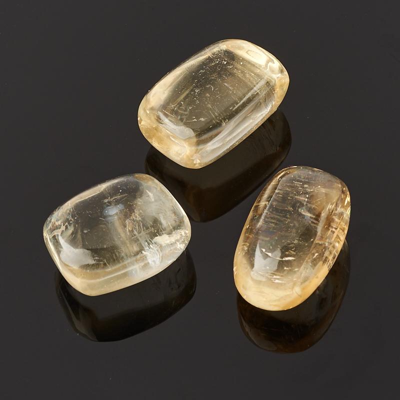 Галтовка кальцит желтый (1,5-2 см) 1 шт