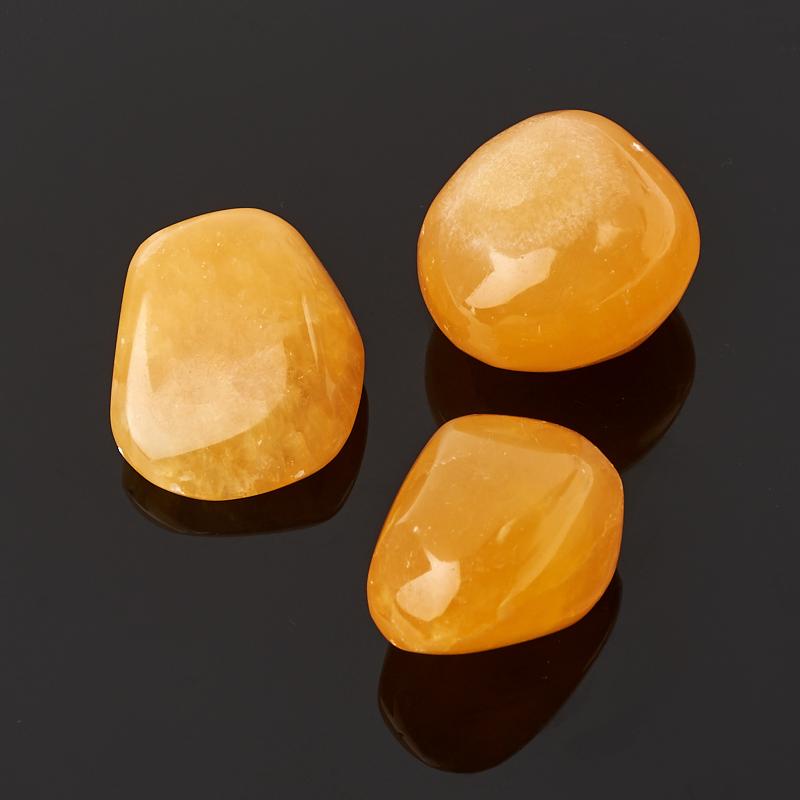 Галтовка кальцит желтый Китай (2-2,5 см) 1 шт