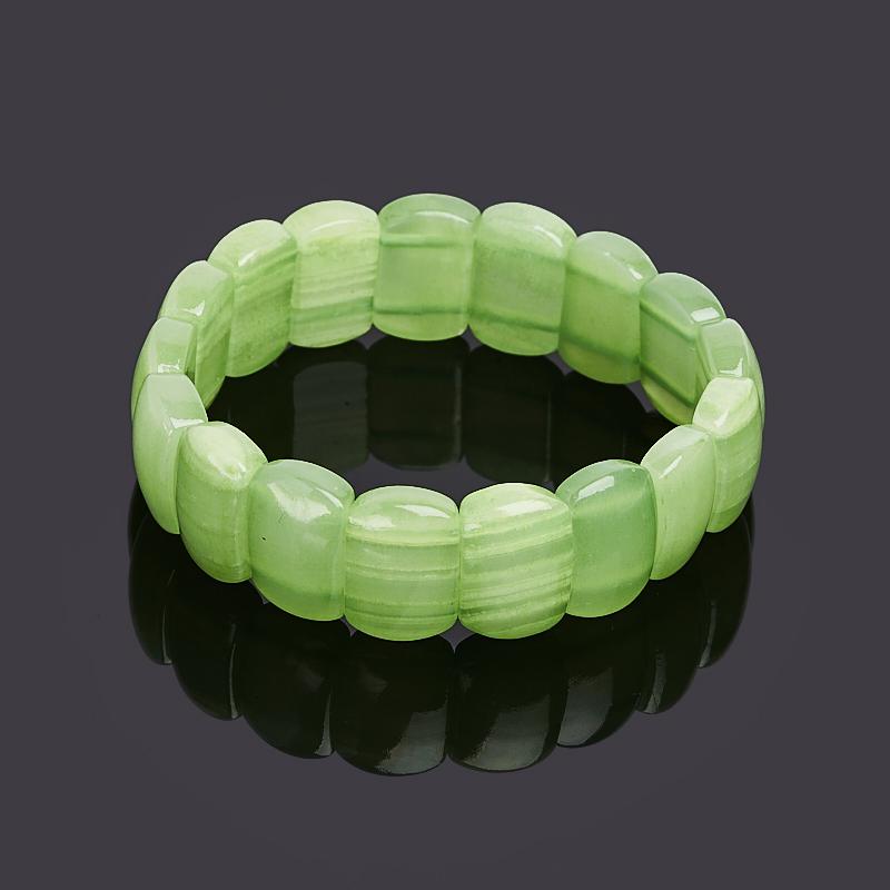 Браслет оникс мраморный зеленый 17 см цены онлайн