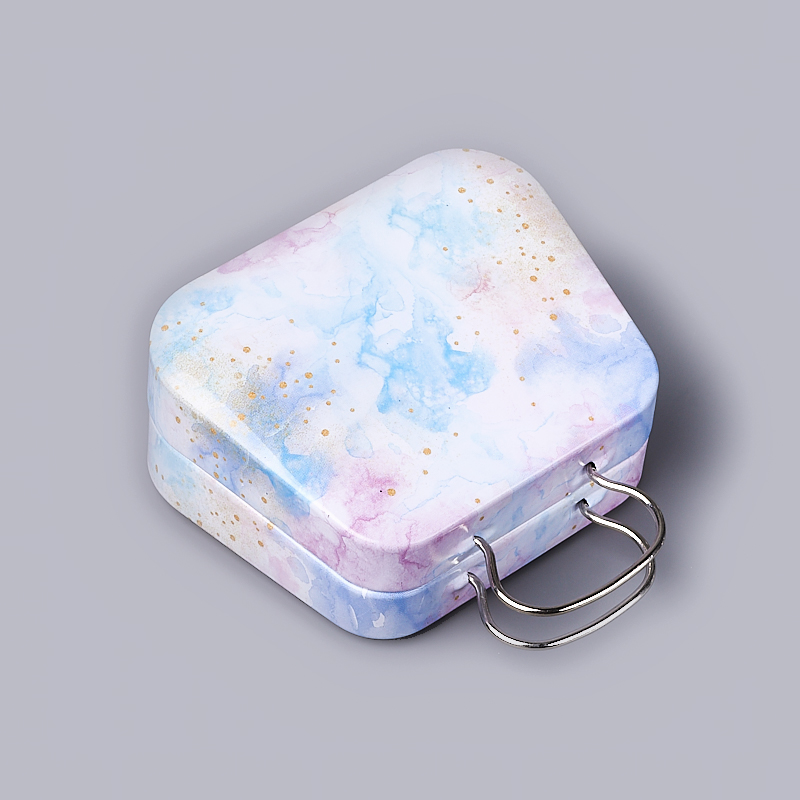 Шкатулка для хранения камней / украшений 7,5х7х2,5 см