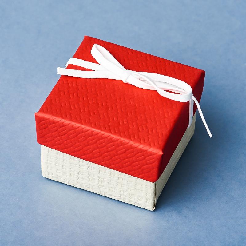 Подарочная упаковка под кольцо/серьги 45х45х35 мм