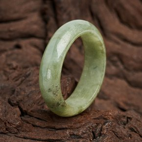 Кольцо жадеит Мьянма размер 19