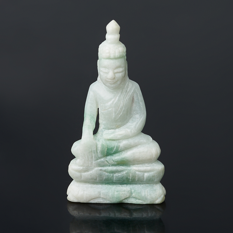 Будда жадеит 5-5,5 см камни для бани жадеит