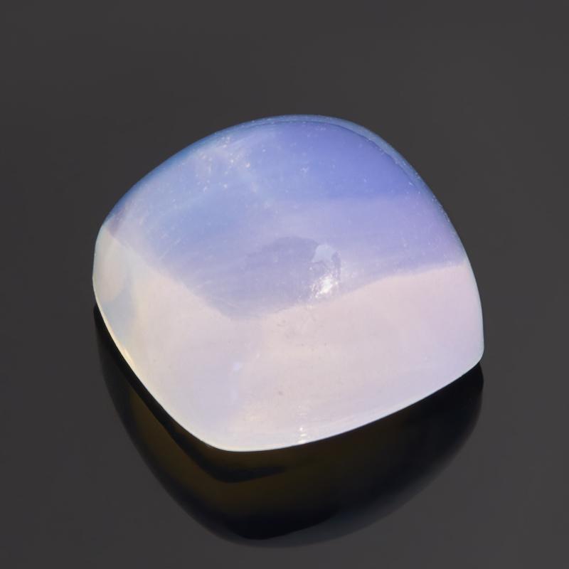 Кабошон опал благородный белый 11*7,5 мм