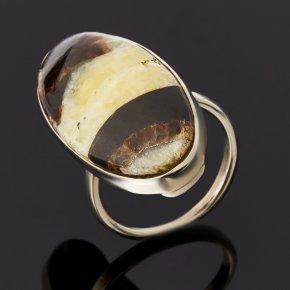Кольцо симбирцит Россия (нейзильбер) размер 18