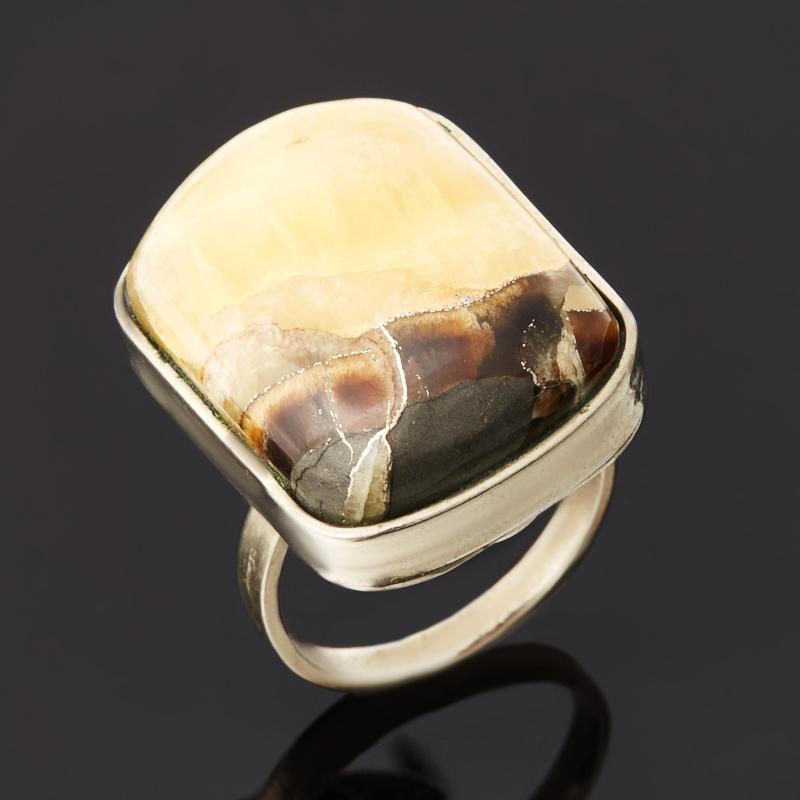 Кольцо симбирцит (нейзильбер) размер 18,5
