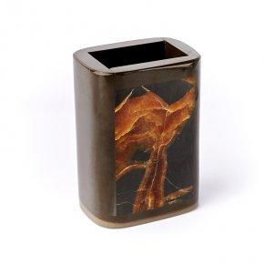 Карандашница микс сидерит, симбирцит 8,5х6х12 см