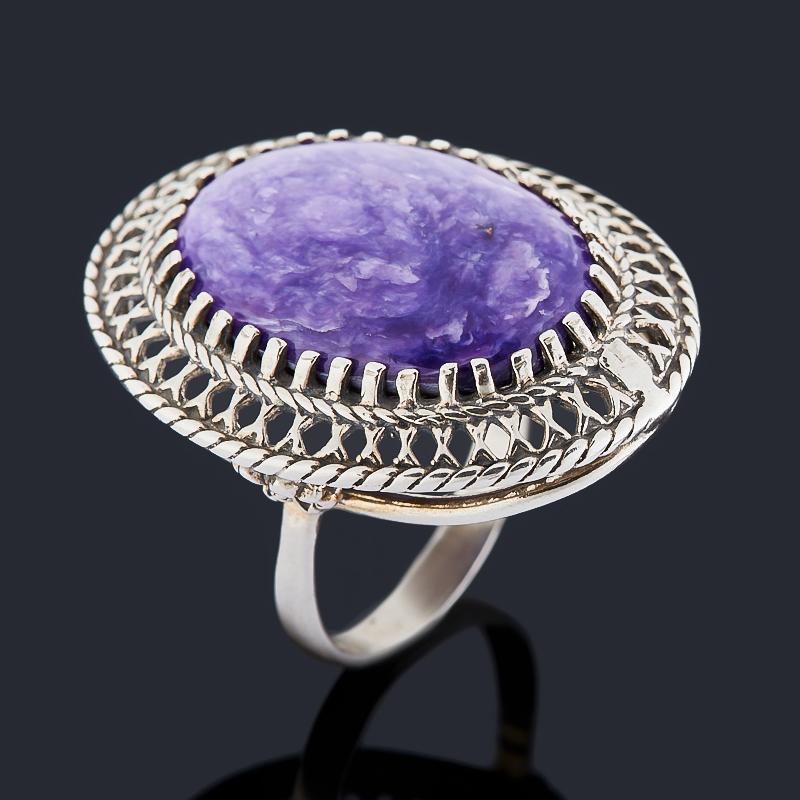 Кольцо чароит (серебро 925 пр. оксидир.) размер 20 кольцо чароит серебро 925 пр оксидир размер 18