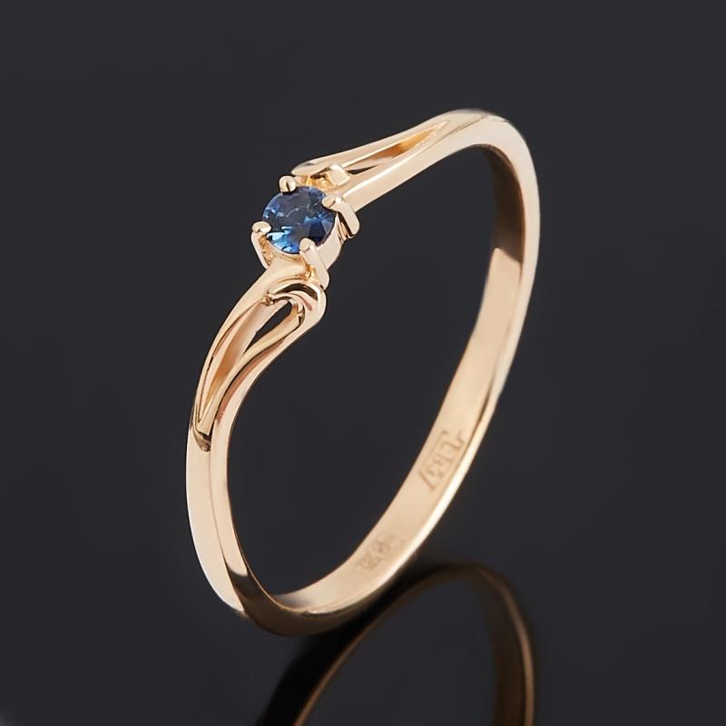 Кольцо сапфир (золото 585 пр.) огранка размер 16,5