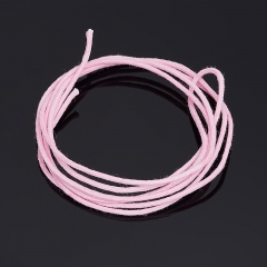 Шнурок (текстиль) (розовый) 70 см
