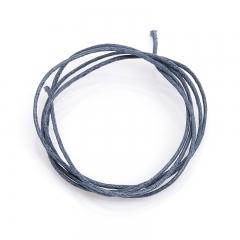 Шнурок (текстиль) (серый) 70 см