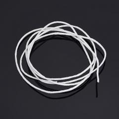 Шнурок (текстиль) (белый) 70 см