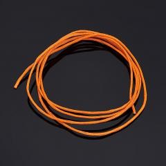 Шнурок (текстиль) (оранжевый) 70 см