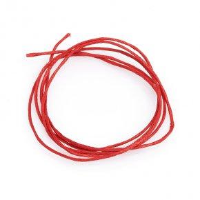 Шнурок (текстиль) красный 70 см