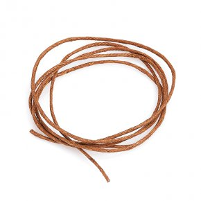 Шнурок (текстиль) коричневый 70 см