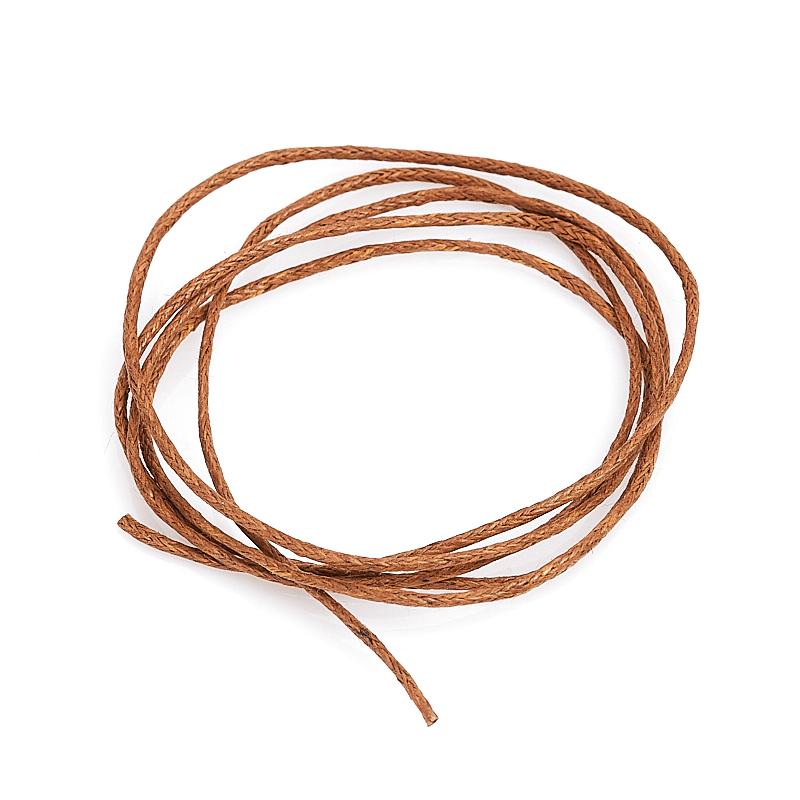 цена Шнурок (текстиль) (коричневый) 70 см онлайн в 2017 году