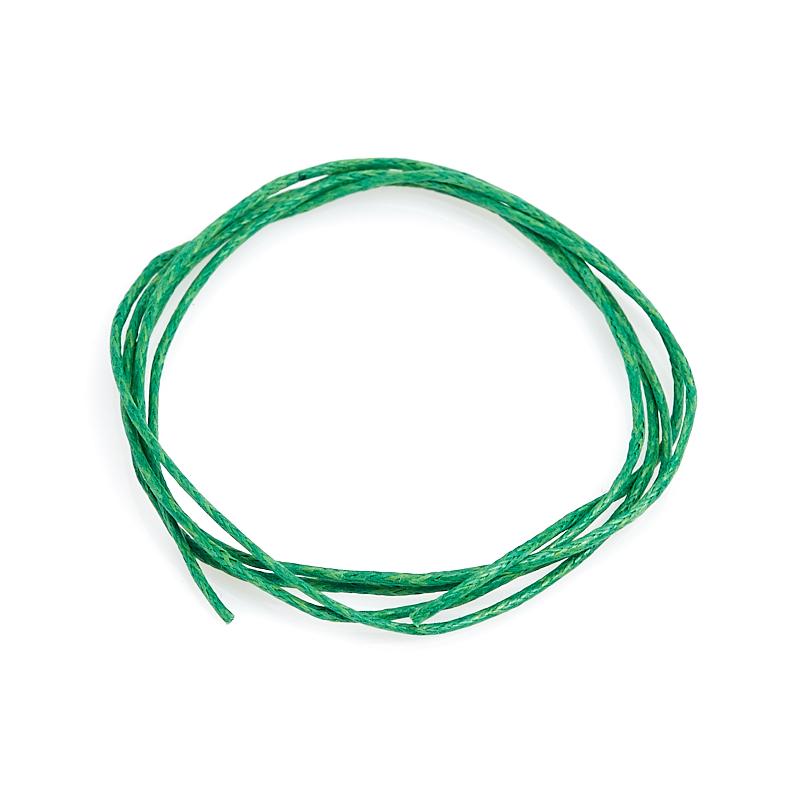 цена на Шнурок (текстиль) зеленый 70 см