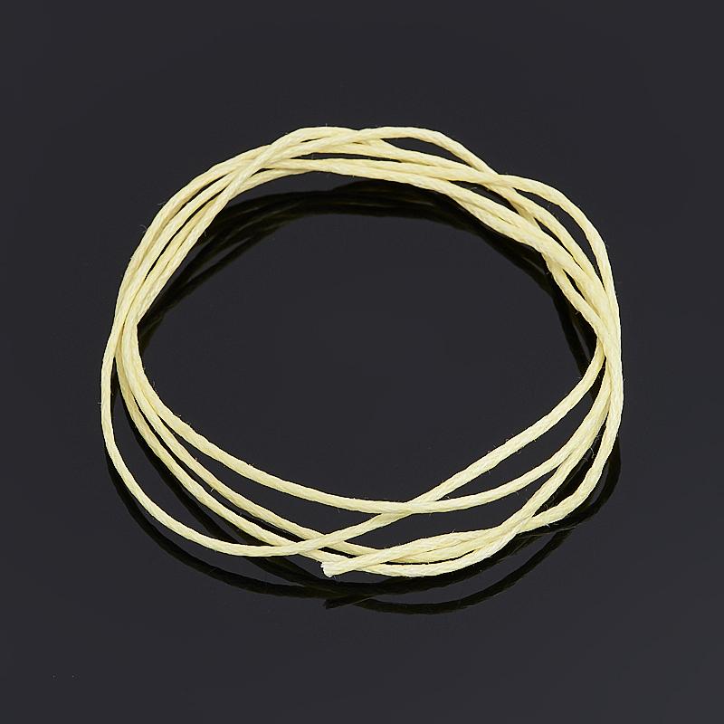 Шнурок (текстиль) (желтый) 70 см
