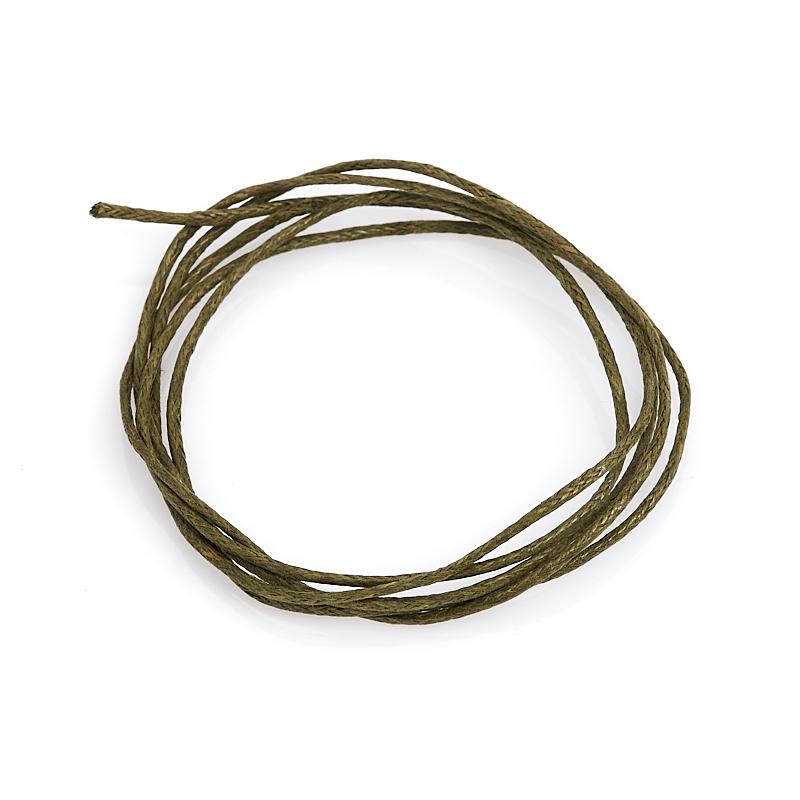 Шнурок (текстиль) (зеленый) 70 см