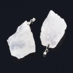 Кулон горный хрусталь Бразилия (биж. сплав) кристалл 5-6 см
