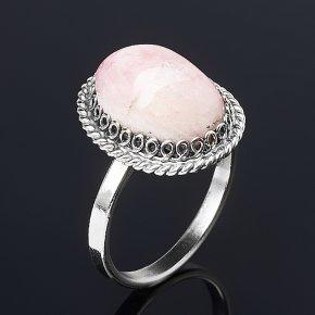 Кольцо турмалин розовый (рубеллит) Россия (нейзильбер) размер 17