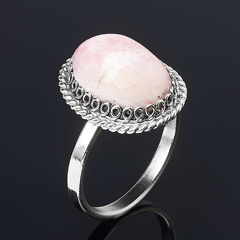 Кольцо турмалин розовый (рубеллит) (нейзильбер) размер 17