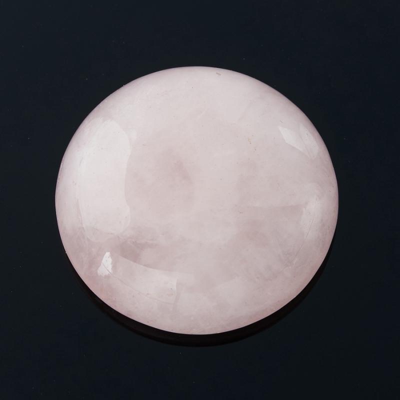 Кабошон розовый кварц 18 мм