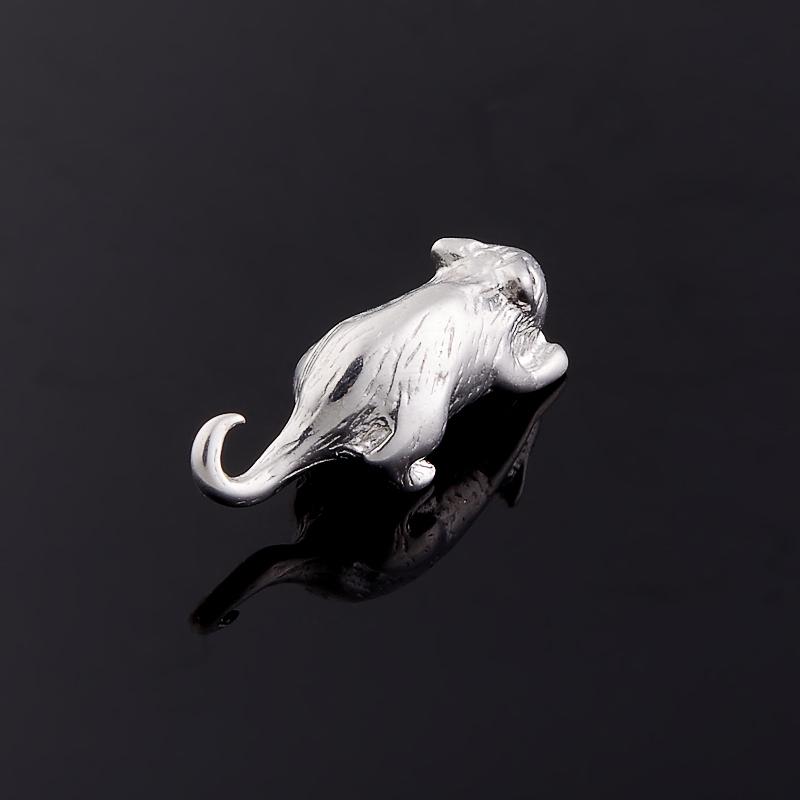 Денежный талисман изумруд Колумбия (серебро 925 пр. родир. бел.) (мышь кошельковая)
