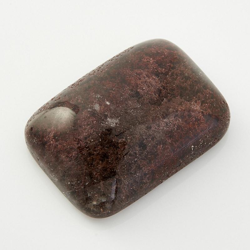 Кабошон кварц с хлоритом  13*18 мм