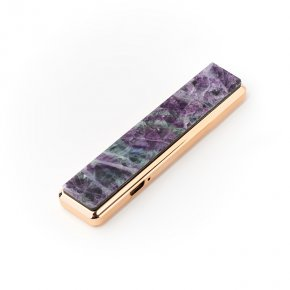 Зажигалка с USB кабелем флюорит 2х8,5 см