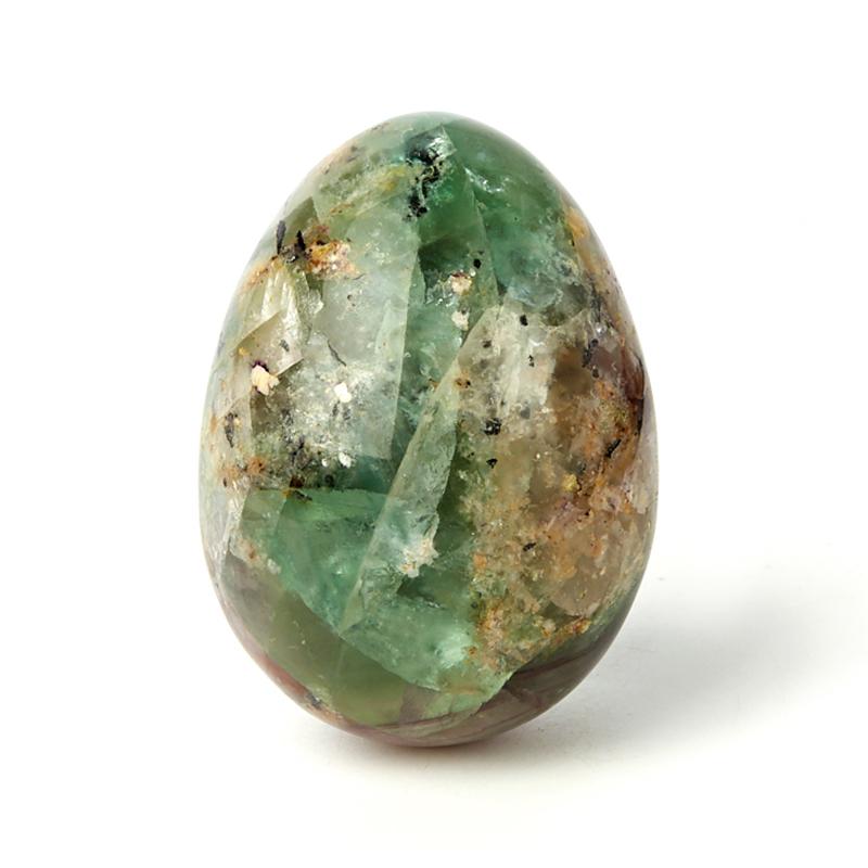 Яйцо флюорит 6,5 см яйцо шкатулка sima land воскресение христово высота 12 см