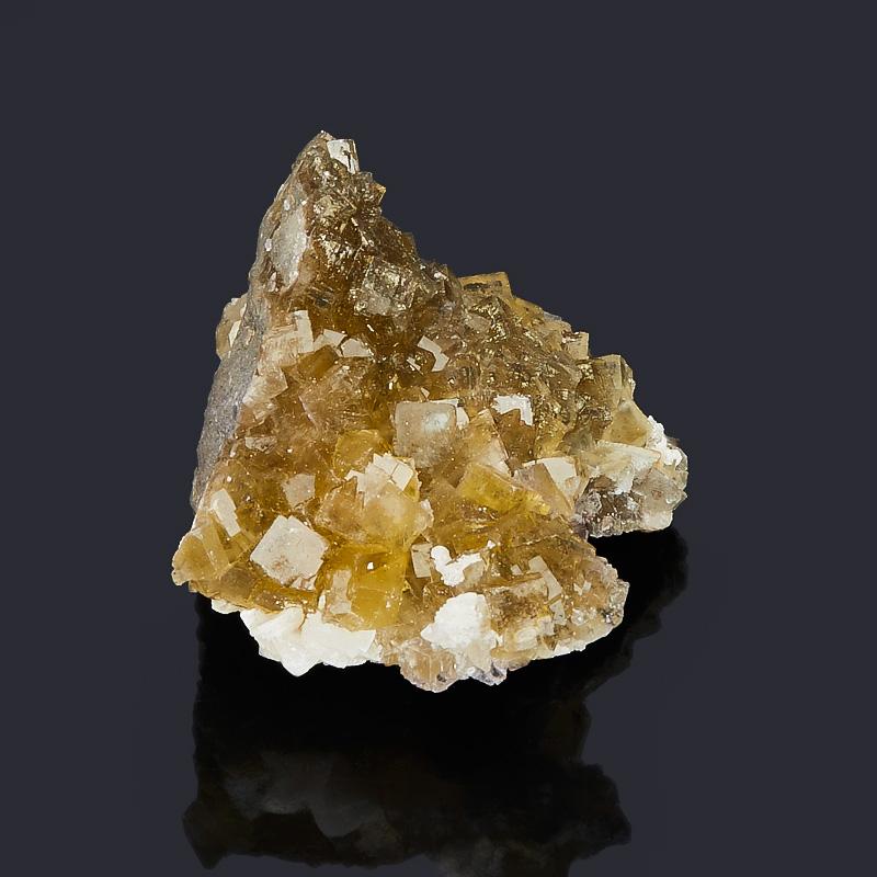 Друза флюорит желтый Испания S (4-7 см)