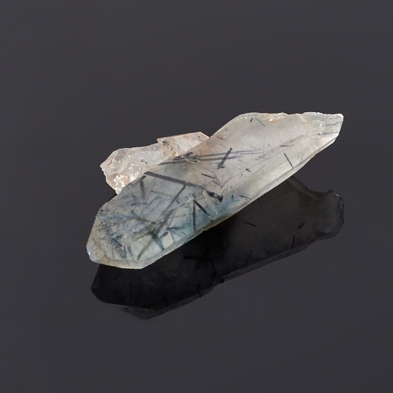 Кристалл кварц с турмалином (2,5-3 см)
