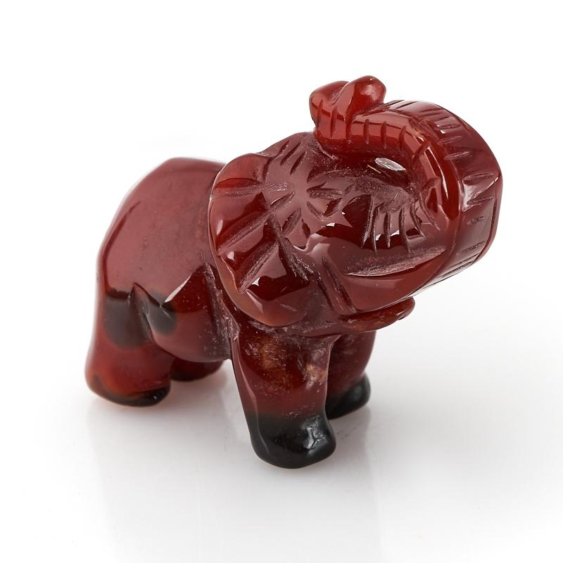 Слон сердолик 4,5-5 см утка сердолик 5 см