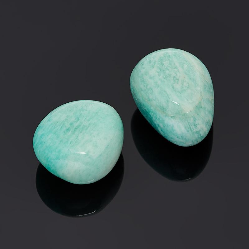 Галтовка амазонит Перу (1,5-2 см) (1 шт)