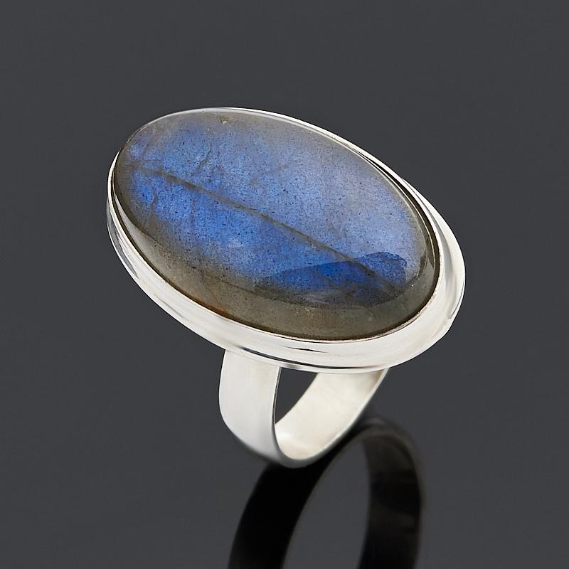 Кольцо лабрадор (серебро 925 пр.) размер 17