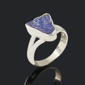 Кольцо танзанит Танзания (серебро 925 пр.) размер 17