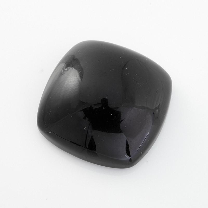 Кабошон агат черный  18*18 мм кабошон агат черный 18 25 мм