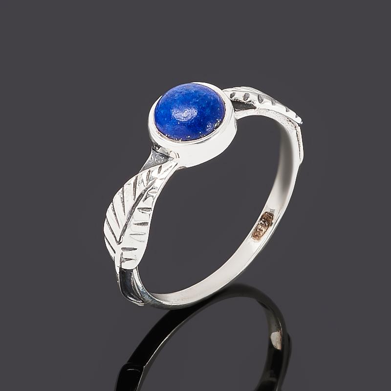 Кольцо лазурит (серебро 925 пр. оксидир.) размер 17 кольцо содалит серебро 925 пр регулируемый размер 17 5