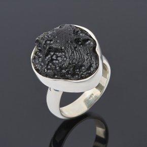 Кольцо тектит Лаос (серебро 925 пр.) размер 18