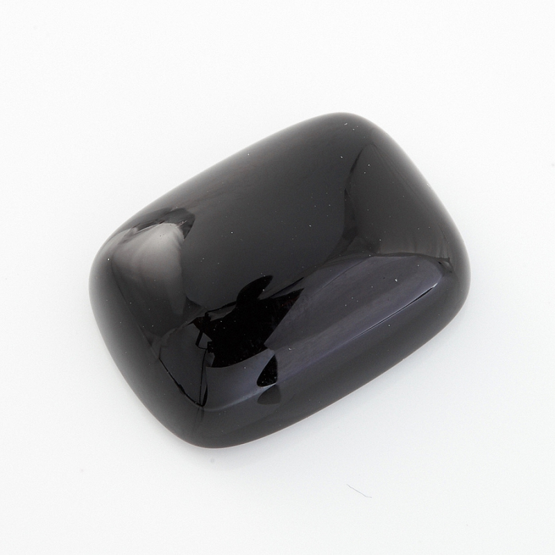 Кабошон агат черный  12*16 мм кабошон нефрит зеленый 12 16 мм